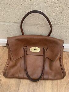 Mulberry Bayswater Oak Brown Tote Bag Handbag