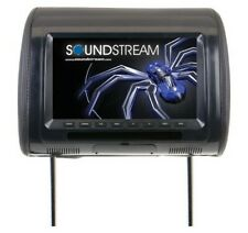 "Soundstream VH90CC Universal Headrest Monitor w/9"" LCD 3 Color Changeable"