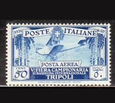 1931 Regno Italia LIBIA 5^ Fiera di Tripoli Deserto Posta Aerea n PA A 3 MH* S20