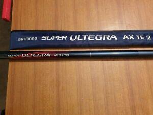 CANNA FISSA SHIMANO SUPER ULTEGRA AX TE2-900 - 9 METRI - OTTIMO STATO !