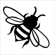 Bee Vinyl Wall Car Sticker Decal Manchester Wasp in 4 Colours