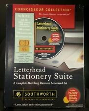 Letterhead Stationary Suite Connoisseur collection by Southworth