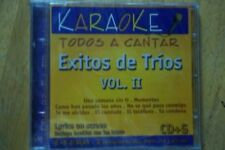 Karaoke: Exitos De Trios 2 music cd brand new---cd2
