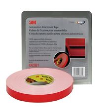 3M 06381 Automotive 45 mil White Acrylic Foam Attachment Tape (7/8 in. X 20 yd.)