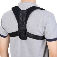 US Posture Corrector Brace Upper Back Neck Shoulder Support Adjustable Straps LC