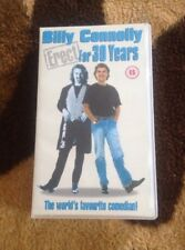 Vintage Collectable Comedy VHS Video Cassette BILLY CONNOLLY  ERECT FOR 30 YEARS