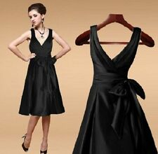 Satin Dry-clean Only Formal Solid Dresses for Women