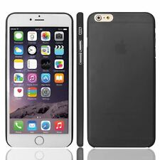 BLACK PLASTIC PC FOR APPLE iPhone 6G PLUS 5.5 0.3MM ULTRA THIN CASE COVER -UK