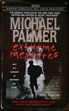EXTREME MEASURES By Michael Palmer (1992, Cassette, Abridged). (2411)