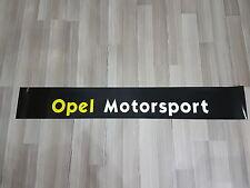 Opel Motorsport Blendstreifen Aufkleber Frontscheiben mit Schutzfolie Tuning TOP