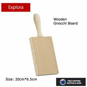 Appetito Gnocchi Board - Rubberwood Rolling Pasta Maker