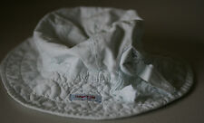 Naartjie Girls Sunhat Rosette Trimmed Dew 2011 Spring Hat Size 5 6 7 years EUC