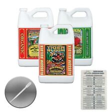 Fox Farm Trio Big Bloom Grow Big Tiger Bloom Gallon + Twin Canaries + Pipette