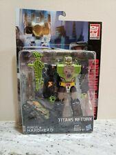 HARDHEAD! Transformers TITANS RETURN! Deluxe Class HEADMASTER, Brand New!