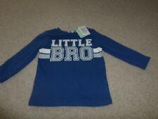 Boys Top. 'Liitle Bro' M&Co. BNWT. 6-9 months.