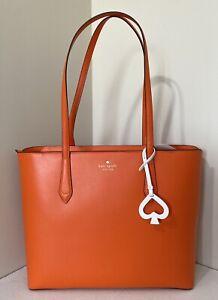New Kate Spade Breanna Tote handbag Coral Buds