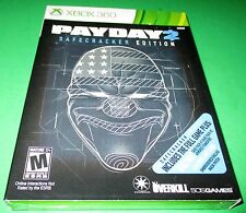 Payday 2 -- Safecracker Edition Microsoft Xbox 360 *New-Sealed-Free Shipping!