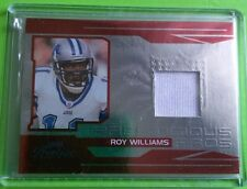 Roy Williams 2007 Playoff Prestige Pretigious Pros Authentic Jersey Card PP-17