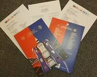 FA CUP FINAL 2020 Arsenal v Chelsea VERY LIMITED PROGRAMME + EXTRAS 1/8/20!!!