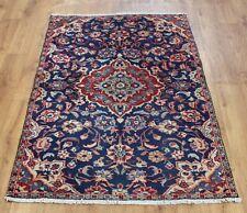 Persian Traditional Vintage Wool 160 X 100cm Oriental Rug Handmade Carpet Rugs