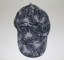 Gymboree Boy's Gray Navy Foliage Print Baseball Cap Hat 100%Cotton NWT LARGE