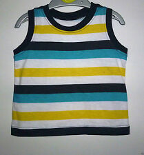 Vest Striped T-Shirts & Tops (0-24 Months) for Boys