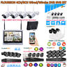 1080P 4/8CH Wireless/Wired NVR 4x Outdoor Camera Video Home CCTV Security System