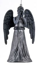 Doctor Who Weeping Angel Glass Christmas Ornament Decoration DW4151 Whovian New