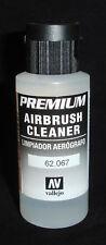 Limpiador de Aerógrafo Premium Vallejo 62.067 60 ML-Acrílico Base De Agua