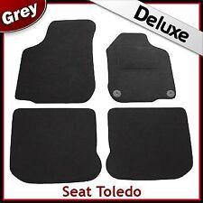 Seat Toledo 1999 2000 2001 2002 2003 2004 Tailored LUXURY 1300g Car Mats GREY