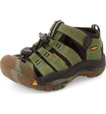 NEW Keen Little Kids Newport H2 Crushed Bronze/Green/Camo Sandals, Sz 1