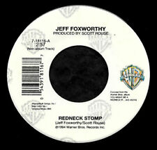 """JEFF FOXWORTHY """"REDNECK STOMP/Words In The South"""" WARNER BROS 18116 (1994) 45rpm"""