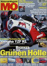 mo 10/97 1997 MuZ Baghira XJR1200SP KTM 620 LSE LC4 Duke Triumph T509 ZRX1100