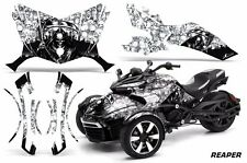 AMR Racing CanAm Spyder F3-S Roadster Graphic Kit Street Bike Decal Wrap REAP W