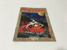Taito New Game Preview Pamphlet Japan DARIUS MEGA DRIVE PC ENGINE PARASOL STARS