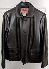 Vintage Amerex Fine Sportswear Woman's Jacket Size Small (14?) Vinyl Rayon