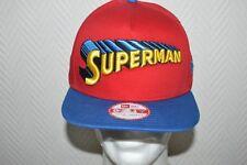CASQUETTE NEW ERA SUPERMAN DC COMICS NEUF TAILLE S/M CAP SNAPBACK