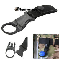 Tactical Nylon Molle Hanger Hook Water Bottle Bukle for Belt Backpack Hunting