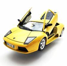 Burago Lamborghini Murcielago Diecast Car 1:18 Scale Yellow