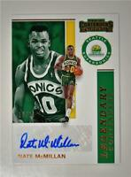 2019-20 Contenders Legendary Contenders Auto #LC-NMM Nate McMillan /25