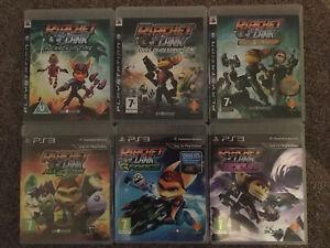 6 GAME RATCHET & CLANK NEXUS  BUNDLE PS3
