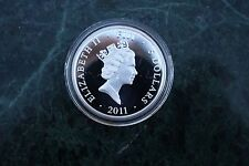 Fiji 2011 5$ Mythologies of the World Muses, a demigod, Orpheus, 25g Silver Coin