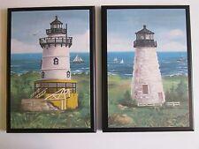 Lighthouses Wall Decor plaque beach bath ocean bathroom lighthouse picture