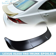 Painted For Lexus IS250 IS350 IS F IS300 TRD-Type Trunk Boot Lip Spoiler 14-15