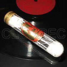 200 Grammophon Nadeln in antiker Glasröhre / Glas Behälter ANTIK / Vintage Glass