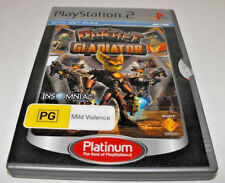"""Ratchet Gladiator PS2 (Platinum) PAL """"Ratchet and Clank"""" *Complete**"""