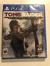 Sealed Tomb Raider - Definitive Edition (Sony PlayStation 4, 2014)Fast Free Ship