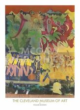 Wrapping It Up at The Lafayette by Romare Bearden Art Print Museum Poster 36x26