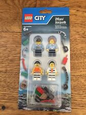 LEGO City Police Accessory 853570 NEW 4 MINI FIGURES -SHIPS WORLDWIDE