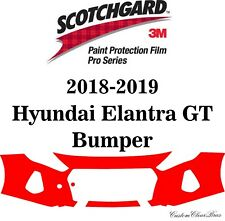 3M Scotchgard Paint Protection Film Pro Series Fits 2018 2019 Hyundai Elantra GT